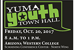 Yuma Youth Town Hall flyer